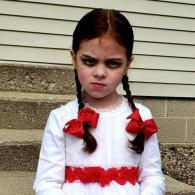 Annabelle outside